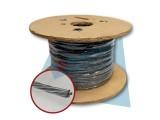Cable de acero galvanizado 1.5mm Resorplast Rollo 100m