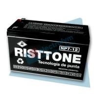 Batería 12V/7Ah Risttone NP7-12